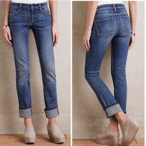 Pilcro and the Letterpress Parallel Denim Jeans
